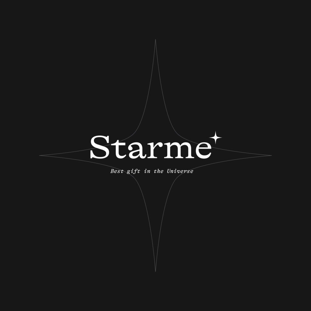 Logo for a concept web design about buying stars