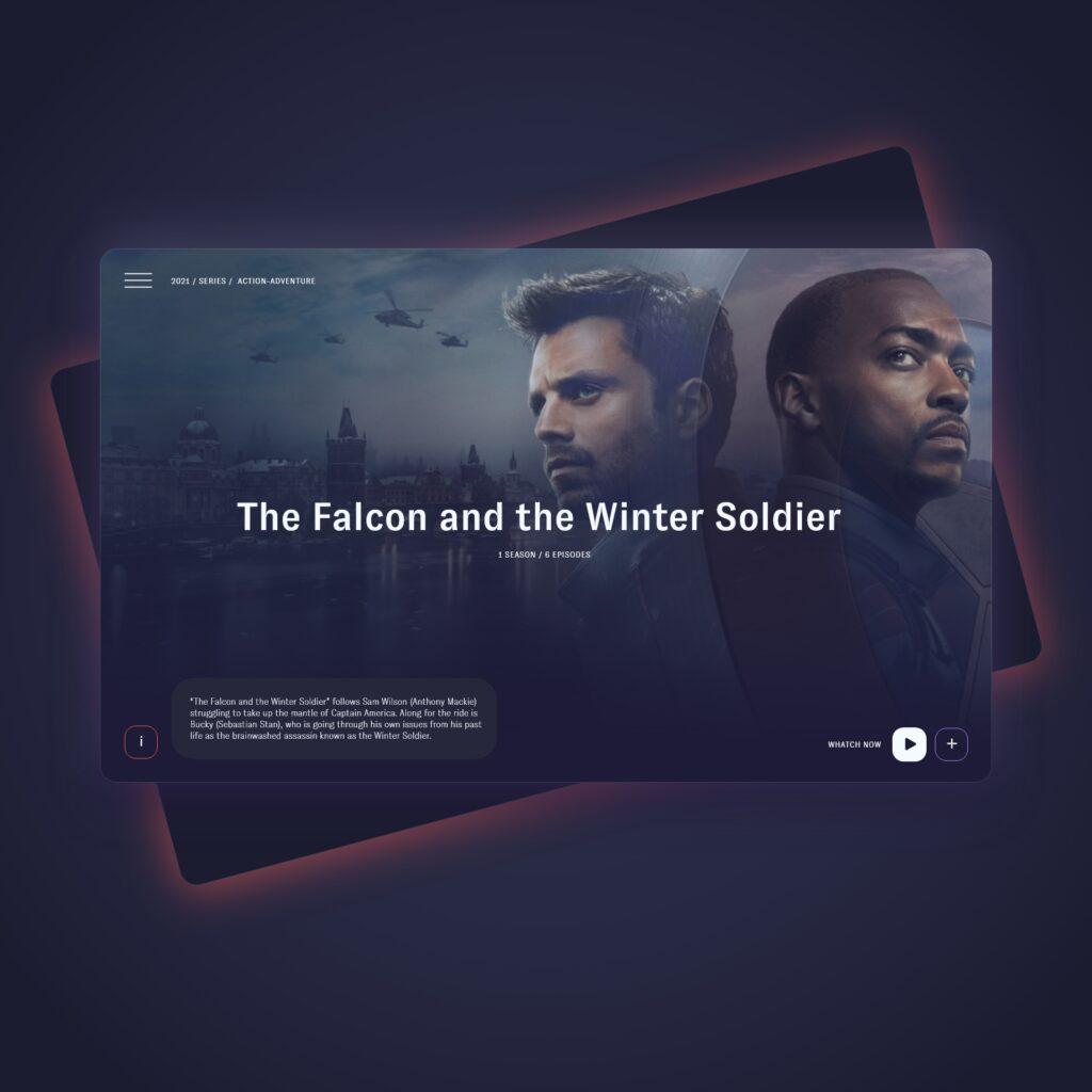 TV App design concept